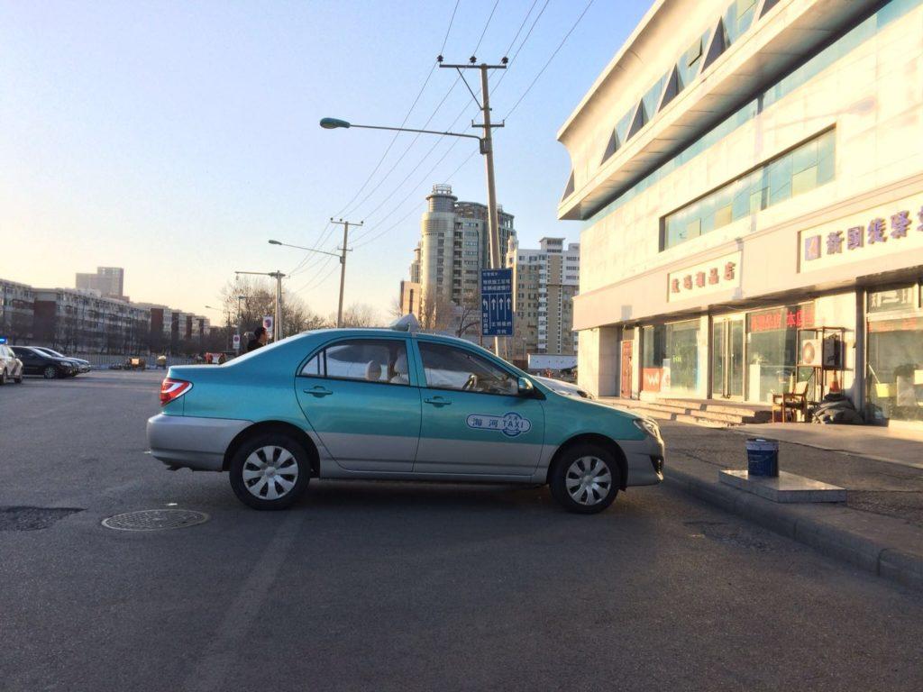 天津のタクシー
