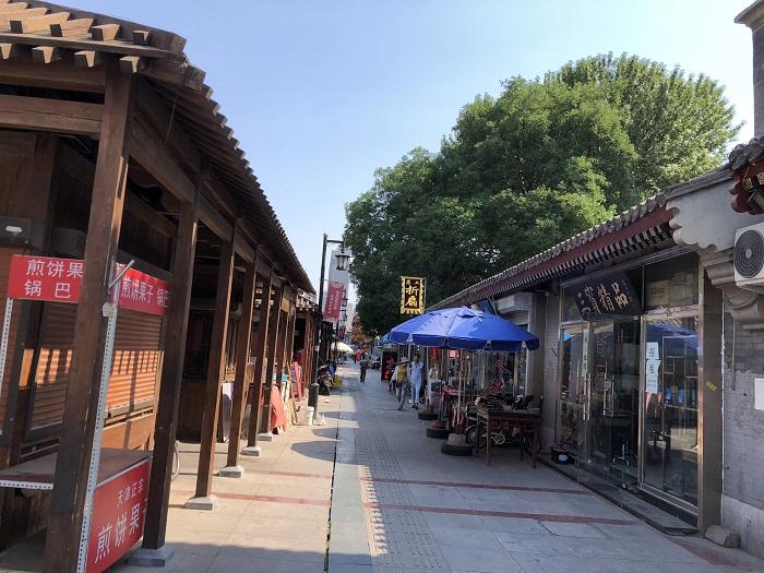 天津の通り