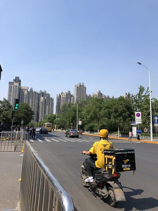 天津の町並み
